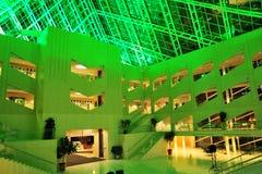интерьер здание муниципалитет стоковые фото