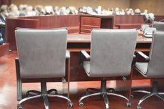 Интерьер здания суда Стоковые Фото