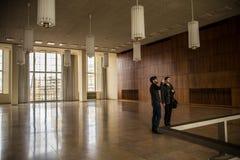 Интерьер здания ESMT в Берлине Стоковое Фото