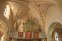 интерьер изображения hdr церков Стоковое Изображение