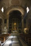 интерьер Италия церков Стоковая Фотография