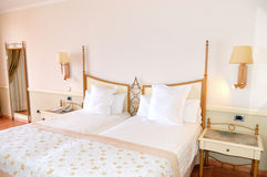 Интерьер квартиры в роскошной гостинице Стоковые Изображения RF