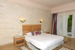 Интерьер квартиры в роскошной гостинице Стоковое Изображение RF