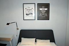 Интерьер квартиры в Wilanow стоковая фотография rf
