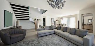 интерьер квартиры красивейший Стоковые Изображения RF