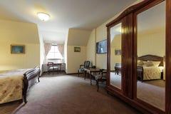Интерьер квартиры роскошной гостиницы Стоковое фото RF