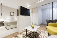 Интерьер квартиры роскошной гостиницы Стоковые Фотографии RF