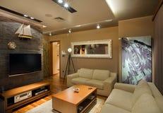 интерьер квартиры Стоковые Изображения RF