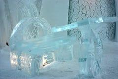 интерьер Квебек льда гостиницы молельни Стоковое Фото