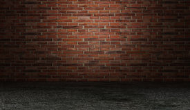 интерьер кирпича Стоковая Фотография RF