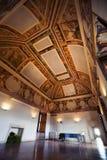 Интерьер комнаты в историческом доме Стоковая Фотография