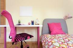 Интерьер комнаты девушки Стоковые Фото
