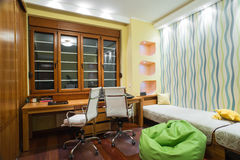 Интерьер комнаты исследования Стоковая Фотография