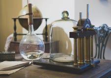 интерьер комнаты Учен-encyclopedist стоковые изображения