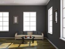Интерьер комнаты иллюстрация вектора