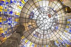 интерьер конструкции круга искусства Стоковая Фотография RF