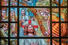 Интерьер коптской церков в Sharm стоковая фотография