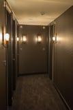 Интерьер коридора гостиницы Стоковые Изображения RF