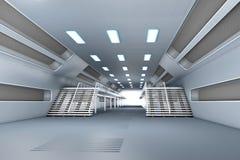 Интерьер космической станции Стоковое Изображение RF