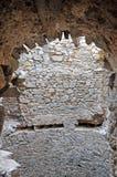 Интерьер крепости стоковое изображение