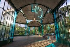 Интерьер кристаллического дворца или Palacio de Cristal - Petropolis, Рио-де-Жанейро, Бразилии стоковая фотография rf