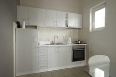 Интерьер кухни в пансионе Стоковое Изображение RF