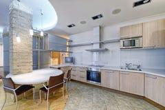 Интерьер кухни Стоковое Изображение RF