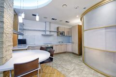 Интерьер кухни Стоковые Изображения RF