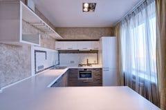 Интерьер кухни Стоковая Фотография RF