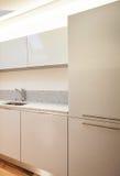 Интерьер, кухня детали Стоковая Фотография RF
