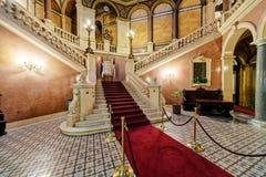 Интерьер классического здания Стоковое Изображение