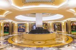 Интерьер Лас-Вегас - Palazzo Стоковое Фото