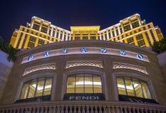 Интерьер Лас-Вегас - Palazzo Стоковые Изображения