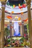 Интерьер Лас-Вегас Palazzo Стоковое фото RF