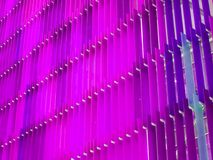 интерьер 2 листа пластической массы на основе акриловых смол тонизирует пурпур и мадженту Стоковые Фото
