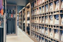 Интерьер магазина бутика Стоковое фото RF