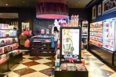 Интерьер магазина Виктории секретный Стоковые Изображения RF