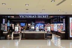 Интерьер магазина Виктории секретный Стоковое Изображение
