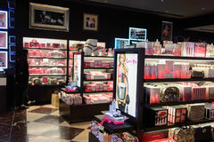 Интерьер магазина Виктории секретный Стоковая Фотография