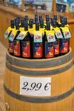 Интерьер магазина винодельни Vinakoper в Koper, Словении Стоковое Изображение RF