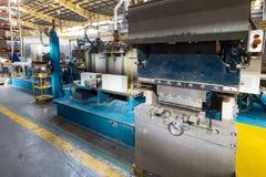 Интерьер магазина механической обработки Современное промышленное предприятие стоковое фото rf