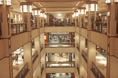 Интерьер магазина Bloomingdale Стоковое Фото