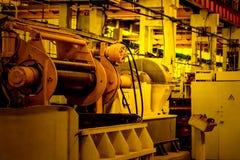 Интерьер мастерской собрания на большом промышленном предприятии Стоковое Фото