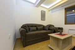 Интерьер малой живущей комнаты Стоковое Изображение RF