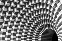 Интерьер малой церков Святого Giovanni Battista от Mongo в Valle Maggia, Тичино, Швейцарии Стоковое фото RF