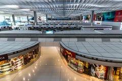 Интерьер международного аэропорта Termial 2 Гонконга стоковые изображения