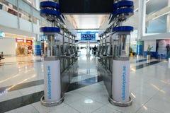 Интерьер международного аэропорта Дубай Стоковое Изображение RF