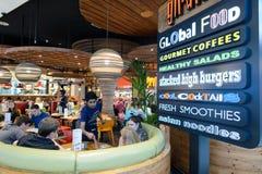 Интерьер международного аэропорта Дубай Стоковые Фото