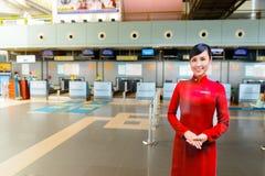 Интерьер международного аэропорта Noi Bai Стоковое Изображение RF
