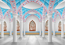 Интерьер мечети Стоковые Изображения RF